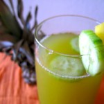 Pineapple Cucumber Agua Fresca