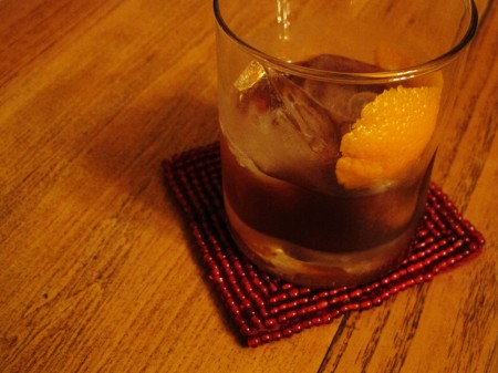 Autumn Old Fashioned Cocktail
