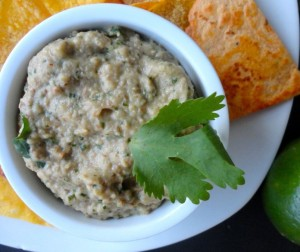 Cilantro Lime Baba Ghanoush