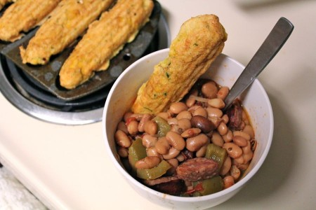 Simple Pleasures: Beans & Cornbread