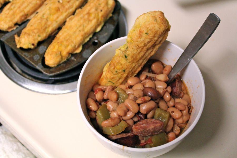 Simple Pleasures: Beans and Cornbread | Whisked Foodie | Jul 13, 2012