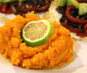 Simple Carrot Mash With Butter and Lime