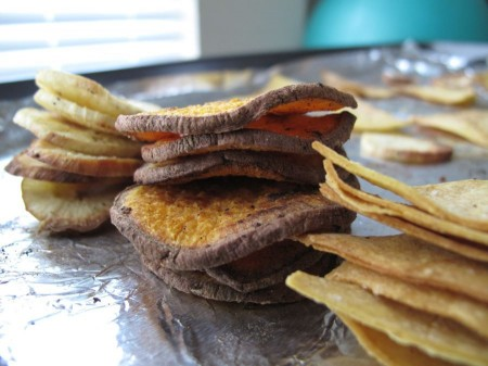 Baking, Frying, and Dehydrating Chips