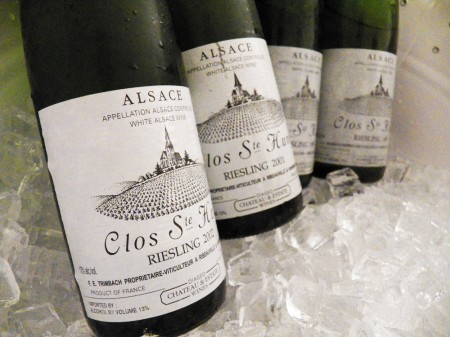 The Holy Grail of Alsace. Tasting Clos Sainte Hune Riesling