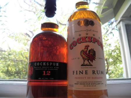 Cockspur Rums from Barbados