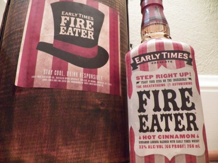 Early Times Fire Eater Cinnamon Spirit