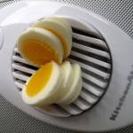 Choppin an Egg with an Egg Slicer
