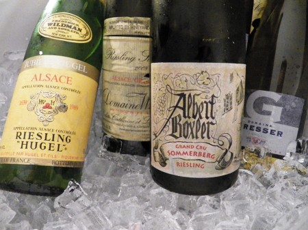 Alsatian Grand Cru Rieslings