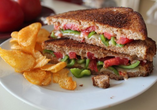 Garden Grilled Cheese