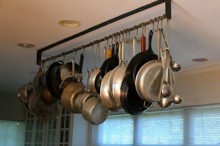 All Hung Up: Hanging Pots & Pans