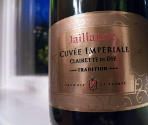 Jaillance Cuvee Imperiale Clairette de Die
