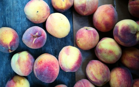 Peaches Get a Makeover: Pickling Peaches