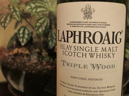 Laphraoig Triple Wood Whisky Review