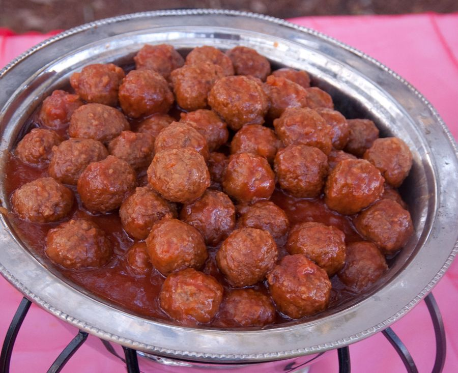 Barbecue Chicken Meatballs » Whisked Foodie