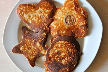 How to Make Pancake Shapes