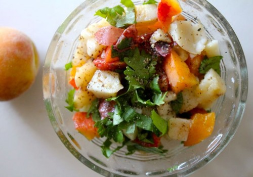 Peach Potato Salad
