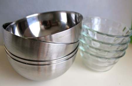 Get a Set of Prep Bowls