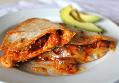 Chipotle Fig Quesadillas