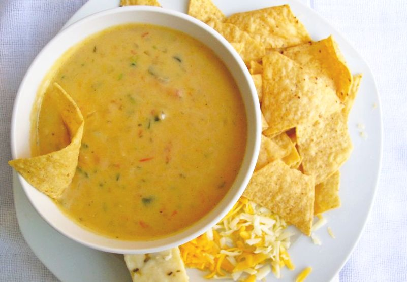 queso dip many folks equate queso or as some call it cheese dip ...