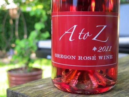 A to Z Rosé 2011 Wine Review