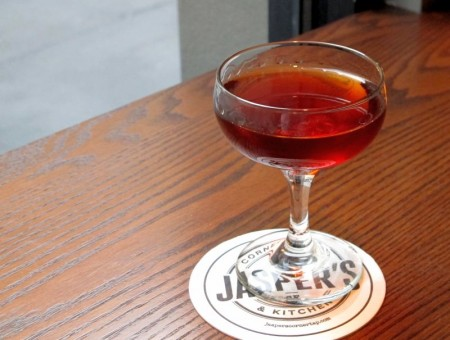 Kevin Diedrich's Smoking Gun Cocktail