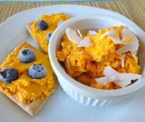 Raw Sweet Potato Coconut Spread