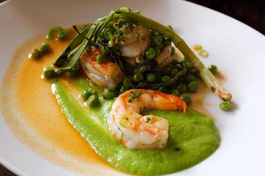 Tilia: Sophisticated Comfort in Minneapolis, Shrimp