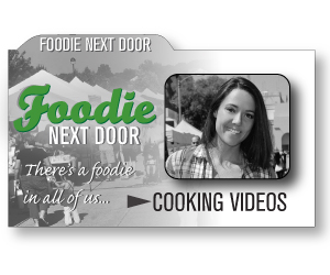 Foodie Next Door Cooking Videos