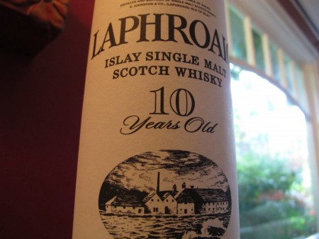 Laphroaig 10 Year Single Malt Scotch Review