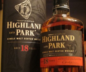 Highland Park 18 Single Malt Scotch Whisky