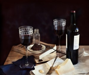 Three Words: Wine, Cheese, Chocolate