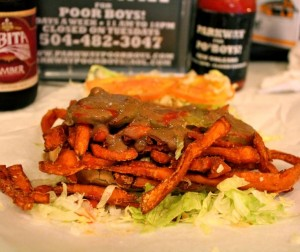 Veggie Friendly Po'Boys at Parkway Bakery & Tavern
