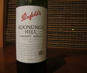 Penfolds Koonunga Hill Cabernet Merlot Wine