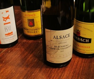 Alsatian Gewurtztraminer Wines