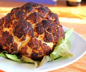 Berber Roasted Cauliflower