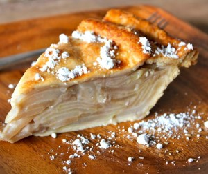 Julias Pear Pie With Ginger and Vanilla