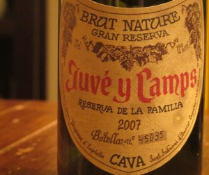 Juve y Camps Gran Familia Brut Reserva Cava