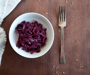 Cheater's Red Cabbage 'Kraut