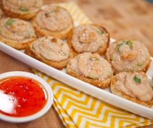 Healthy Redux Shrimp Toast