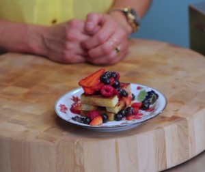 Video: Pound Cake Churros With Summer Berries